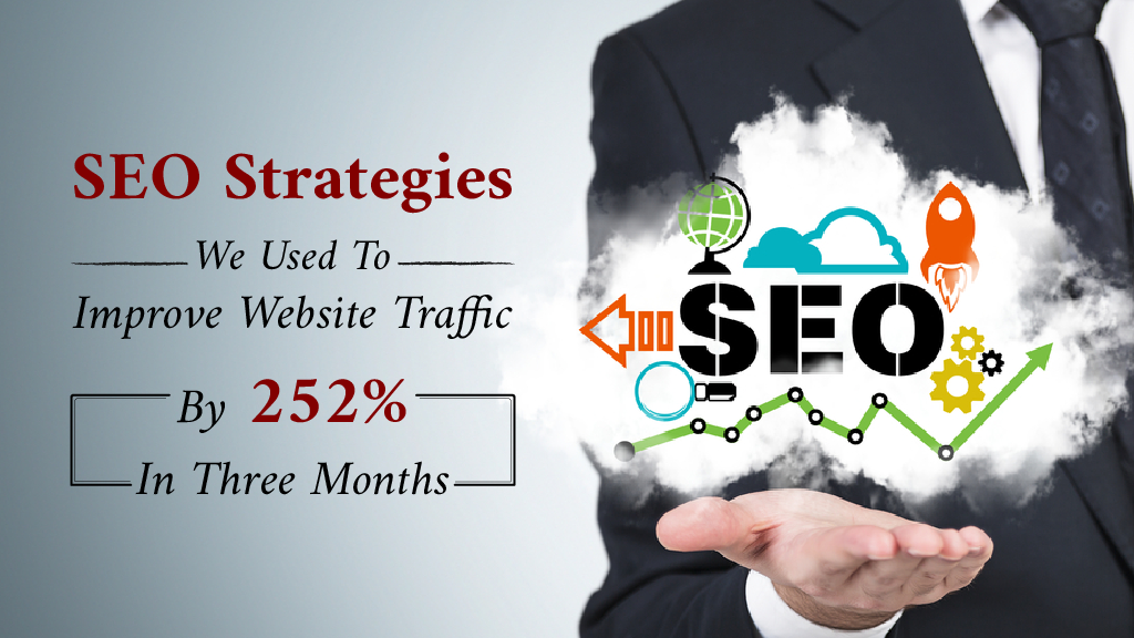 SEO Strategies We Used to Improve Website Traffic By 252% In Three Months