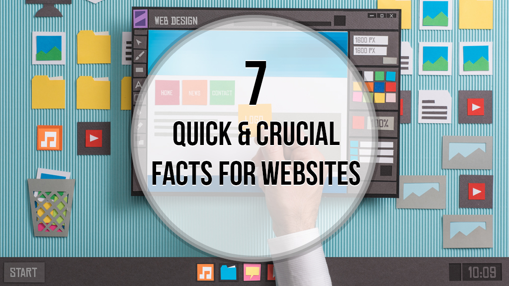 7 Quick & Crucial Facts For Websites